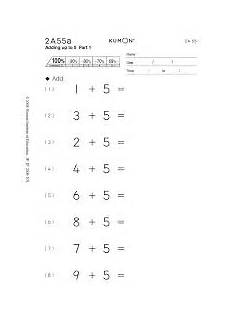 kumon exercises addition google search worksheets