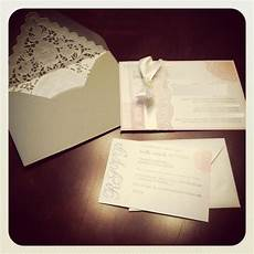 diy lace invitations weddingbee photo gallery