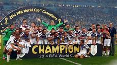 Fussball Weltmeister 2014 - g 246 tzes geniestreich l 246 ws dfb team kr 246 nt sich zum fu 223