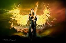 engel bilder mit sprüchen engel mit dem flammenschwert foto bild fotomontage