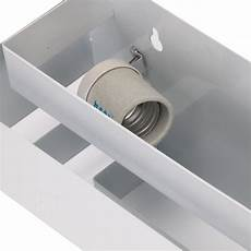 contemporary indoor up down wall light curved white square lighting l uk ebay