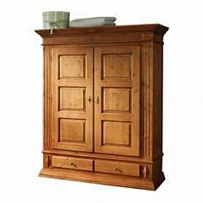 Kleiderschrank Fichte Massivholz Schrank Schlafzimmer