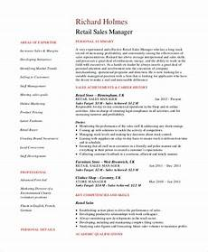 retail sales manager resume printable planner template