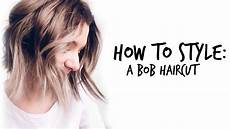 how to style bob haircuts chic bob youtube