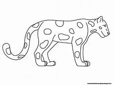 jaguar coloring pages free printable coloring pages
