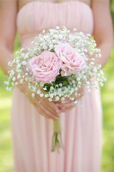 rustic pink wedding filled with burlap and baby s breath bridesmaid bouquet wedding flowers