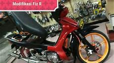 Modifikasi Motor Fiz R Standar by Modifikasi Yamaha Fiz R