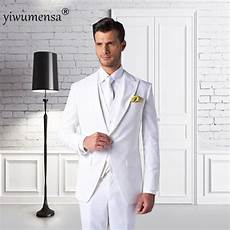 costume mariage homme blanc