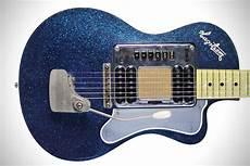 Kurt Cobain S Hagstrom Blue Sparkle Deluxe Guitar