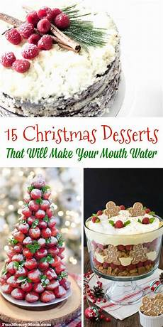 15 desserts that will make your water