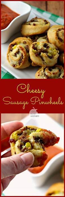 renees kitchen adventures cheesy sausage pinwheels renee s kitchen adventures easy