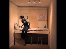 espace loggia le lit se range au plafond