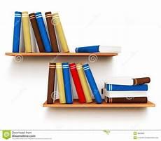 mensole libri libri sulla mensola illustrazione di stock illustrazione