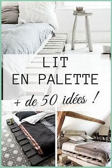 faire un lit en bois lit en palette 50 id 233 es pour fabriquer un lit en