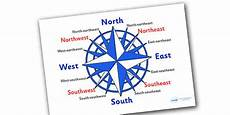 compass directions ks2 worksheets 11720 compass 16 point display posters made
