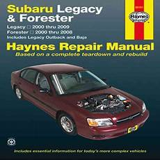car repair manual download 2008 subaru legacy parental controls haynes subaru legacy and forester automotive repair manual subaru legacy 2000 through 2009