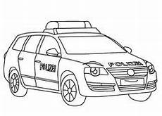 Ausmalbilder Polizei Lkw City Car Printable Coloring Page Cars Coloring