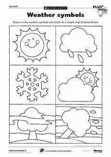 weather activity worksheets for kindergarten 14490 loads of uk school printables and books weather symbols weather activities preschool