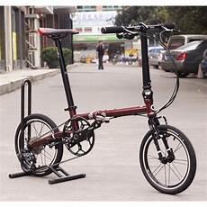 fnhon cr mo steel folding bike 16 quot mini velo