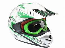 dirt bike helm kinder motocross helm mit brille offroad dirt bike ebay
