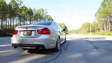 2010 bmw e90 335i m performance exhaust drive by and sound