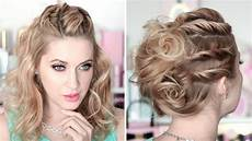 coiffure cheveux mi pour mariage prom hairstyles running late updo medium