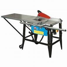 scie a bois sur table macdimo scie sur table de chantier avec chariot 315mm