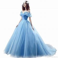 robe de princesse disney pour adulte 2019 newest cinderella quinceanera dresses with butterfly