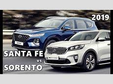 2019 Kia Sorento vs 2019 Hyundai Santa Fe   YouTube