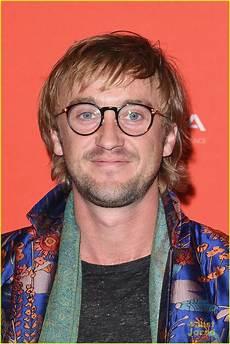 tom felton 2018 tom felton wears bright bold jacket to ophelia