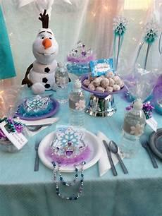 Sweet Table Reine Des Neiges Birthdays Table Reine Des