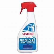 anti calcaire gel suractif 500 ml spado distriver