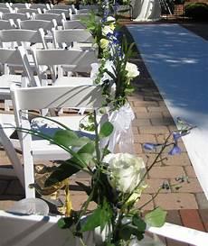 weddings wirt street wedding ceremony chair decorations