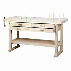 60 quot hardwood workbench 4 drawers working surface tool
