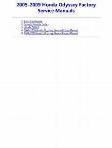 service repair manual free download 2009 honda odyssey free book repair manuals 2009 honda odyssey service repair manual