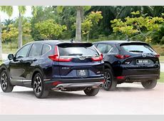 SUV supremacy battle: 2017 Honda CR V 1.5 TC P vs Mazda CX