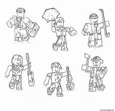 Malvorlagen Topmodel Roblox Roblox Characters Coloring Pages Printable