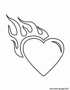 with flames stencil coloring pages printable