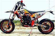 Matic Modif Trail by Modifikasi Motor Trail Bebek Sport Matic Terbaru 2019