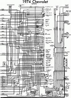 1974 Chevrolet Corvette Wiring Diagram All About Wiring