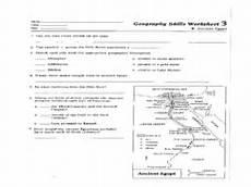 geography skills worksheet ancient worksheet for