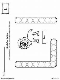letter l worksheets for preschoolers 23200 letter l do a dot worksheet do a dot letter l crafts preschool letters