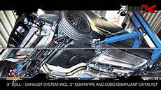 bull x auspuff ford focus rs 500 bull x exhaust auspuffanlage
