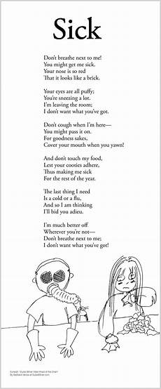 poem worksheets for 4th grade 25455 sick childrens poems poetry for poems