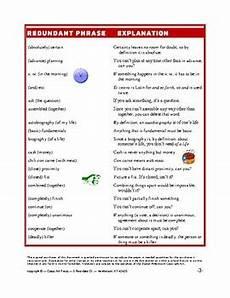 grammar redundancy worksheets 24955 writing eliminating redundancy worksheets distance learning