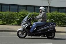 Essai Du Suzuki 125 Burgman Abs L Argus