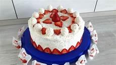 erdbeer raffaello torte rezept mit bild elli k