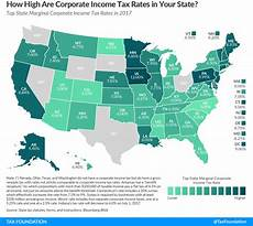 Missouri State Tax Chart 2015 State Corporate Income Tax Rates And Brackets For 2017