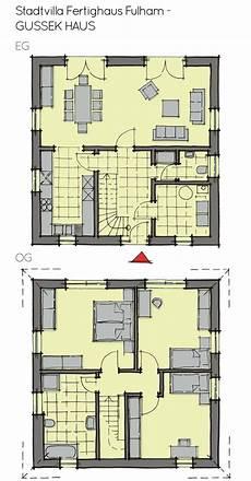 stadtvilla grundriss quadratisch mit zeltdach 4 zimmer