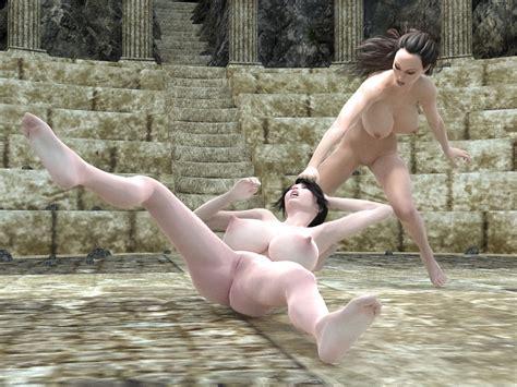 Girls Fighting Naked